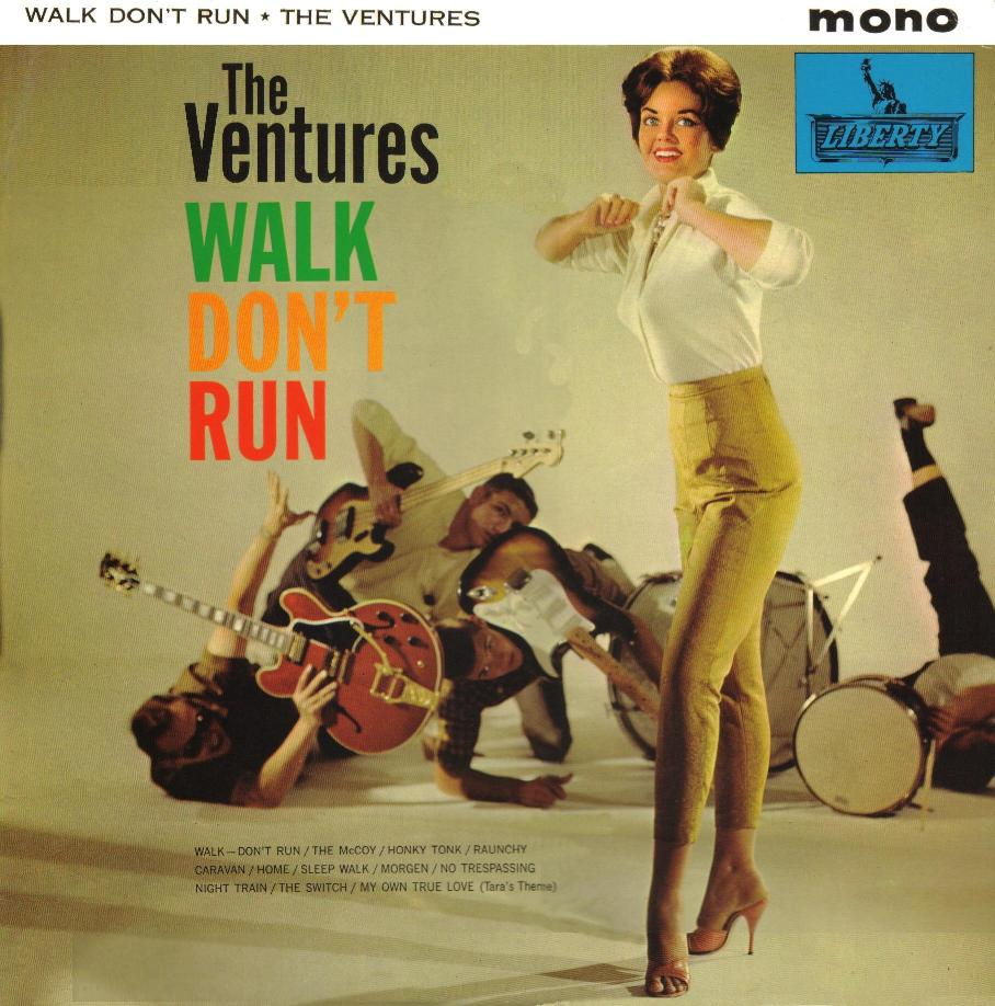 Image result for walk don't run the ventures